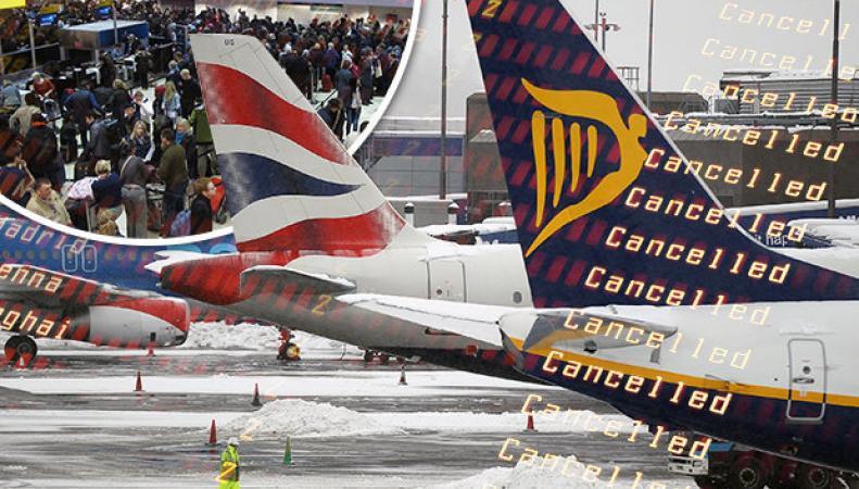 British Airways отменяет рейсы из Хитроу из-за непогоды