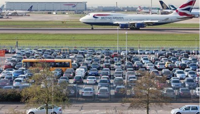 Назван самый дорогой для парковки автомобиля аэропорт Великобритании