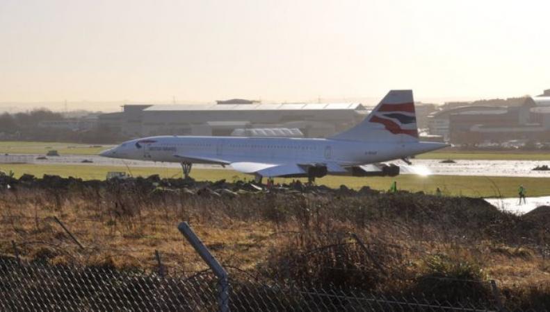 Последний Concorde станет доступен для посещения в Бристоле фото:bbc.com