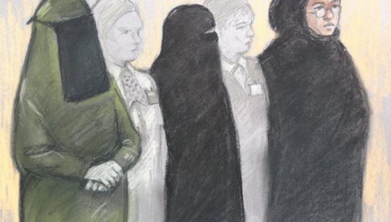В лондонском суде началось слушание дело женской террористической ячейки