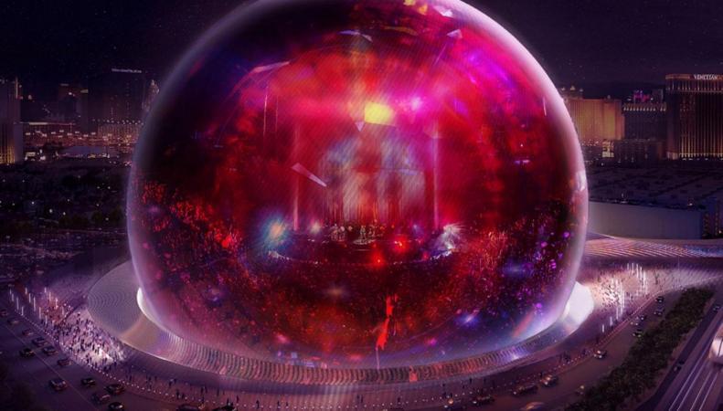В Олимпийском парке Лондона появится огромный «хрустальный шар»