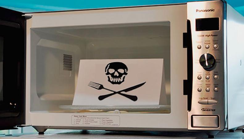 Микроволновки - угроза для человечества