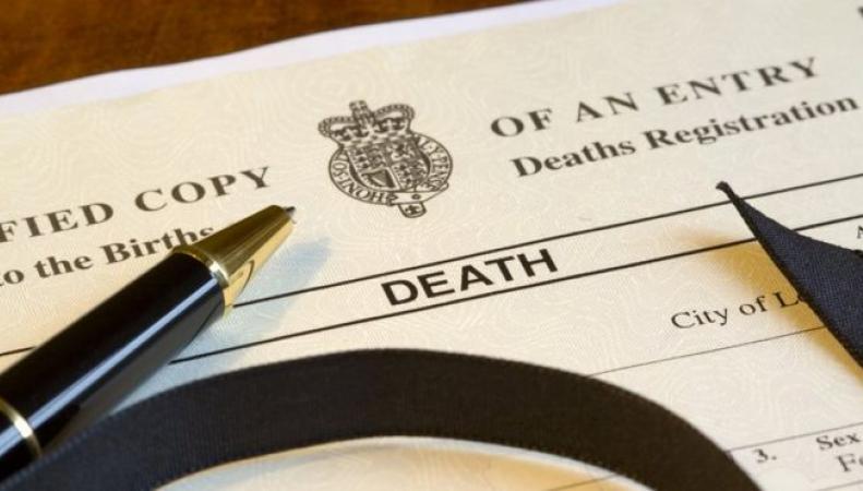 Стоимость свидетельства о смерти в Великобритании выросла втрое
