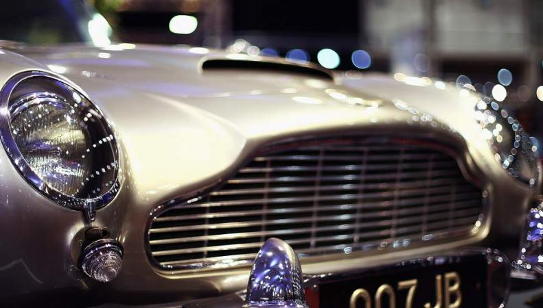 Aston Martin назван лучшим киношным автомобилем