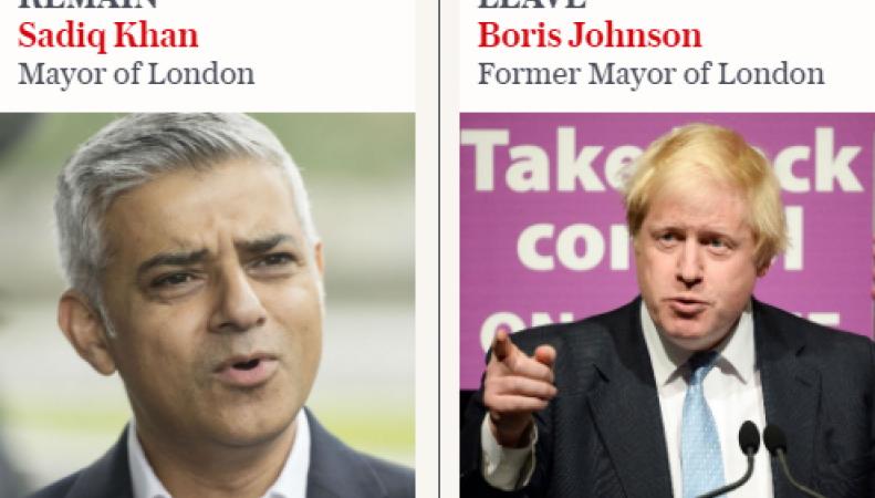 В Лондоне проходит решающий раунд дебатов сторонников и противников Brexit фото:telegraph.co.uk