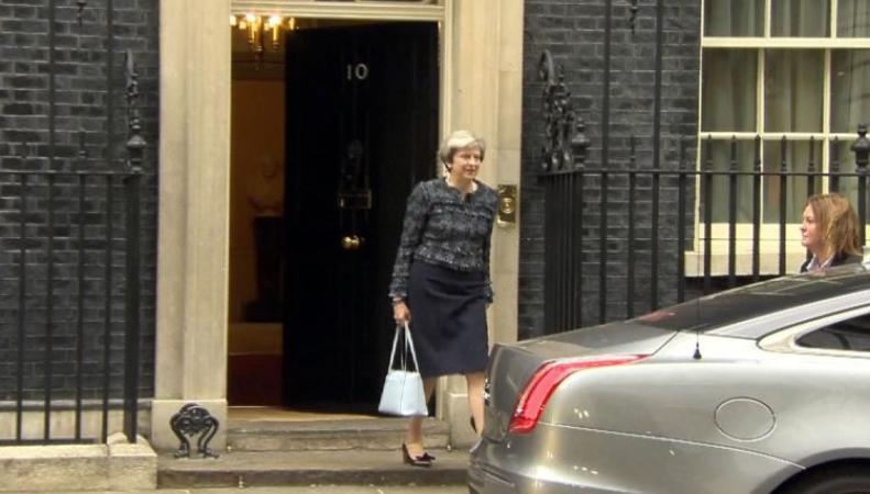 Британский парламент распущен перед всеобщими выборами фот:itv