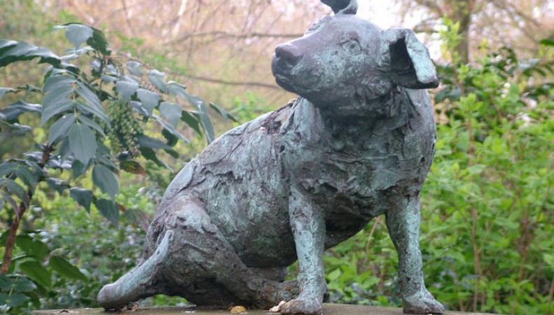 Секреты старого Лондона: Памятник собаке, спровоцировавший массовые волнения фото:londonist.com