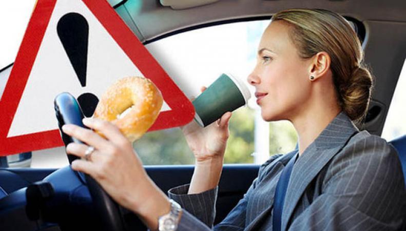 В Великобритании утренний кофе за рулем может обойтись вам очень дорого