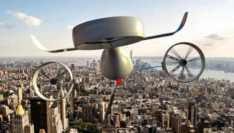 Пассажирские дроны могут стать новым общественным транспортом в Лондоне