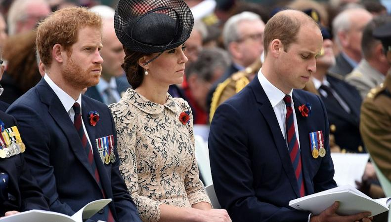 Супруги Кембриджские посетили прием во Франции по случаю столетия битвы на Сомме фото:dailymail.co.uk