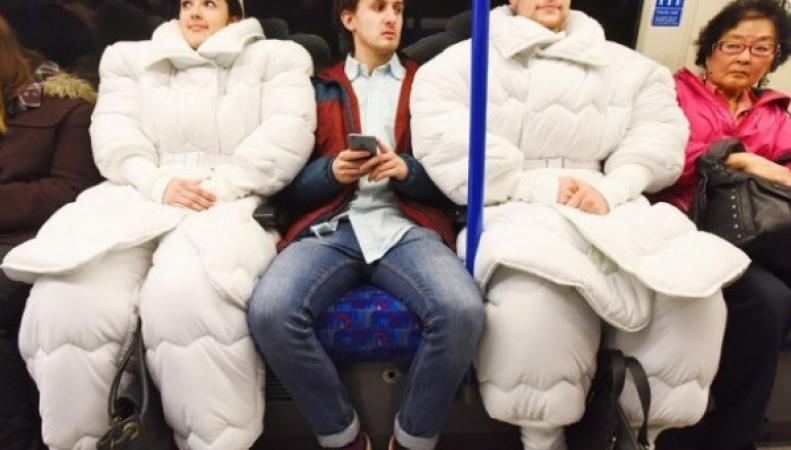 Британский дизайнер придумал костюм для сна
