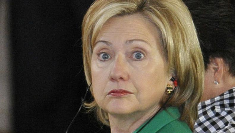 Хилари Клинтон болеет