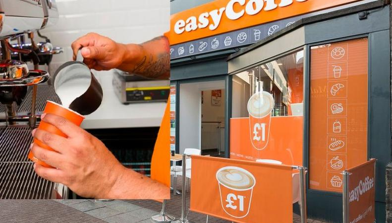 Британская сеть кофеен EasyCoffee составит конкуренцию крупным сетевым игрокам фото:mirror.co.uk