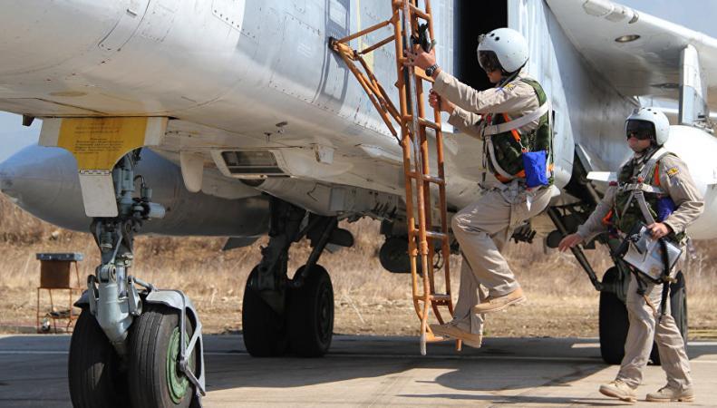 Российский Су-24 в Сирии сбили самолётами НАТО