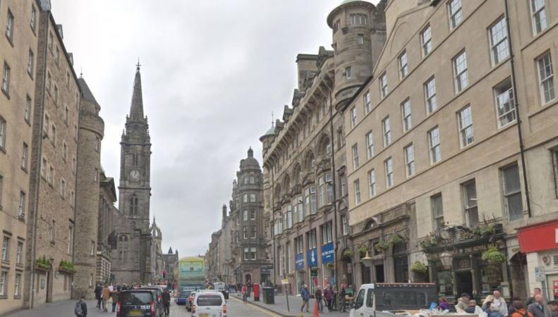 Центр Эдинбурга полностью освободят от автотранспорта  по воскресеньям