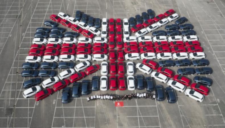 Рост производства автомобилей в Британии