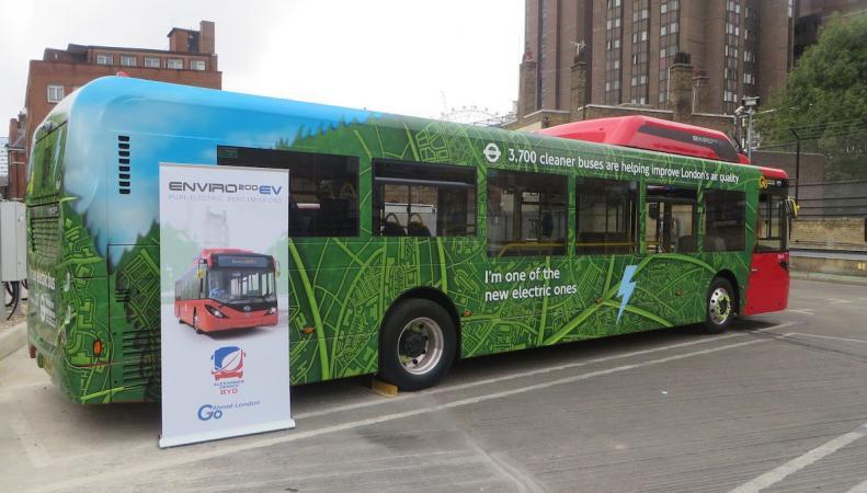 В Лондоне два автобусных маршрута переведут на электричество фото:mayorwatch