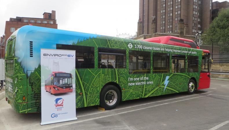 Лондон получит деньги на закупку электрических автобусов