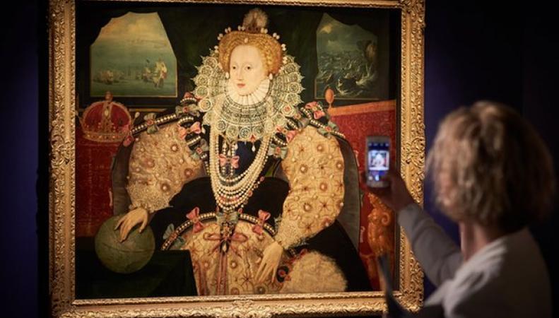 Британцы выкупят портрет Елизаветы I у потомков Фрэнсиса Дрейка фото:theguardian.com