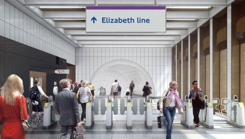 Crossrail показал дизайн-проект станций и переходов Elizabeth Line фото:bbc.com