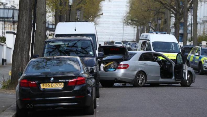 Напавший на машину украинского посла британец отправлен в психбольницу