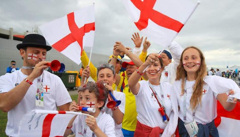 Генуя заявила авторские права на флаг Англии