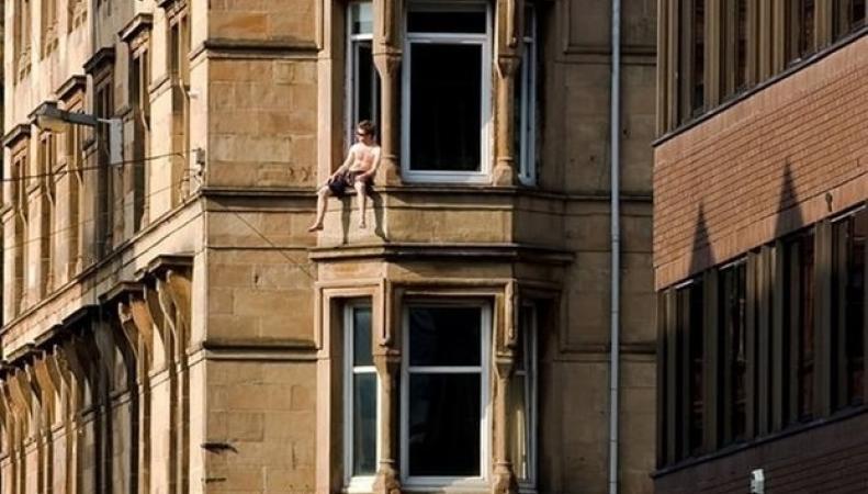 Жители Шотландии достойно встретили рекордно теплые дни  фото:twitter.com