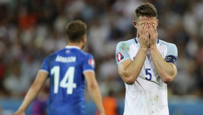 Сборная Англии выбыла из Евро-2016 после проигрыша Исландии фото:bbc
