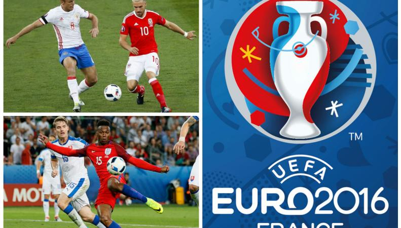 Евро-2016: Россия - Уэльс, Англия - Словакия
