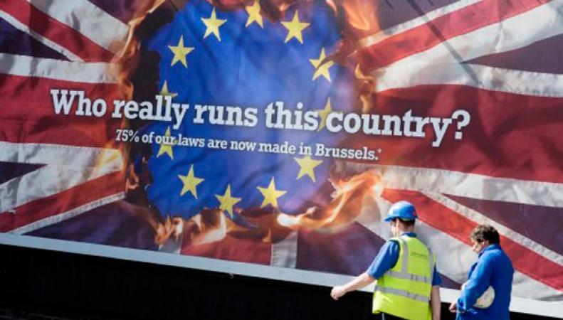 Выход из ЕС поддерживают большинство британцев