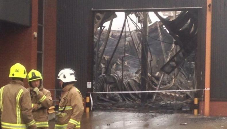В Лидсе за один день случились два крупных пожара в промышленных зонах фото:bbc.com