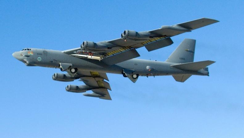 Два бомбардировщика США приблизились к границам России