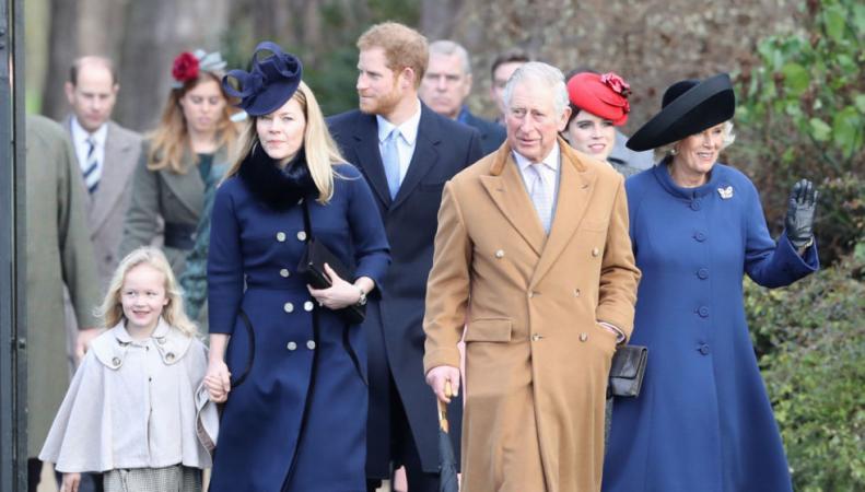 Журналисты подсчитали занятость членов королевской семьи в 2016 году фото:sky news