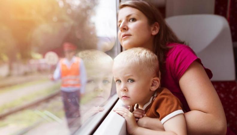 На железнодорожном маршруте Лондон-Бирмингем появился первый детский вагон фото:standard.co.uk