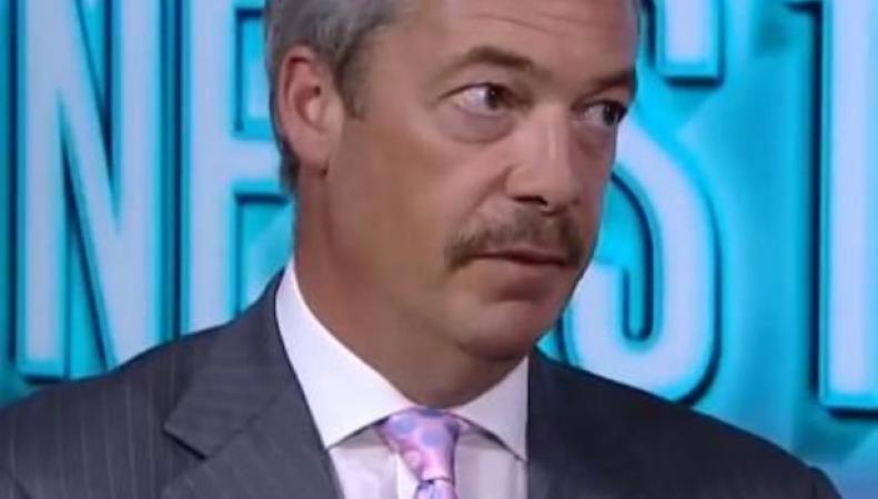 Фараж пообещал вернуться, если правительство будет тянуть с выходом из Евросоюза  фото:telegraph.co,uk