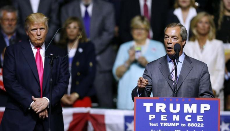 ФБР назвало Фаража «заинтересованным лицом» в деле о связях Трампа с Россией фото:independent