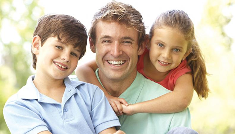 Британские отцы уделяют мало времени своим детям