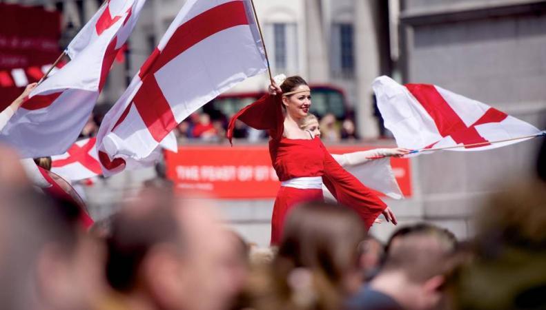 В Лондоне отметят День Святого Георгия