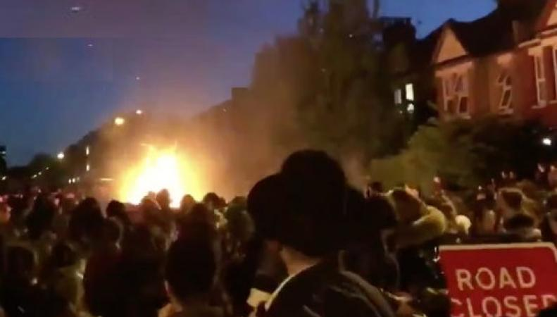 Мощный взрыв прогремел на иудейском фестивале в Лондоне