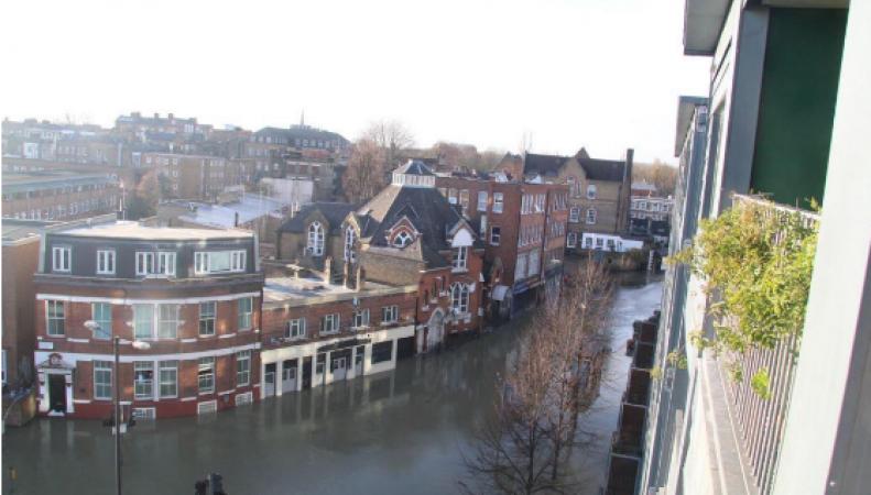 Thames Water начала расследование причин техногенных потопов в Лондоне фото:standard.co.uk