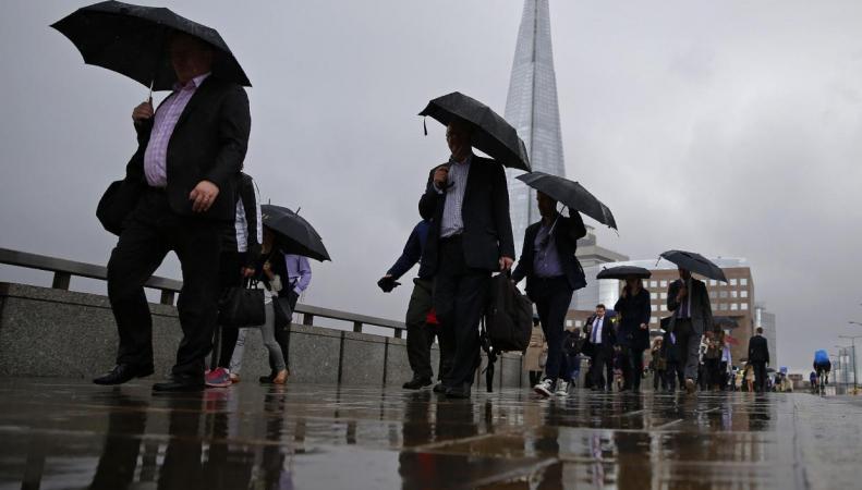 В Лондоне объявлена угроза локальных подтоплений
