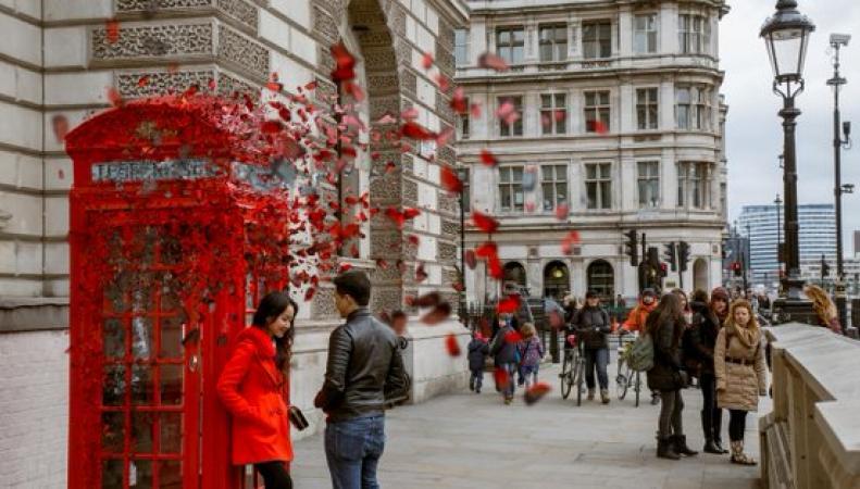 «Рассыпающиеся» пейзажи Лондона показал очарованный пользователь Инстаграма фото:standard.co.uk