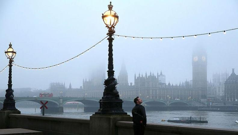 В канун Хэллоуина Лондон погрузился в мистический туман фото:mashable.com