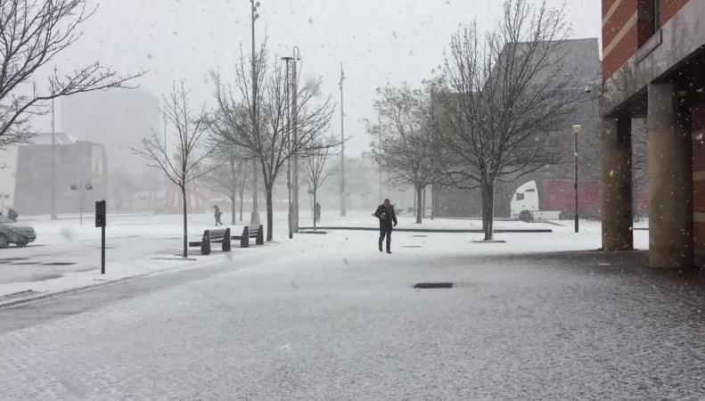 Арктический холод придет на смену шторму в Великобритании