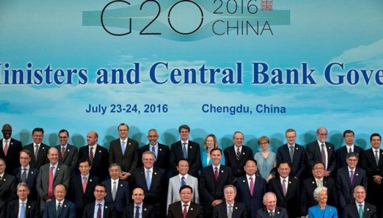 Brexit создал новую угрозу мировой экономики, – резолюция министров стран G20  фото:bbc.com