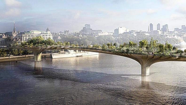 Парковый мост должен быть бесплатным и доступным для всех, - Садик Хан фото:standard.co.uk