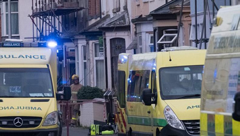 Взрыв газа в Блэкпуле (Великобритания)
