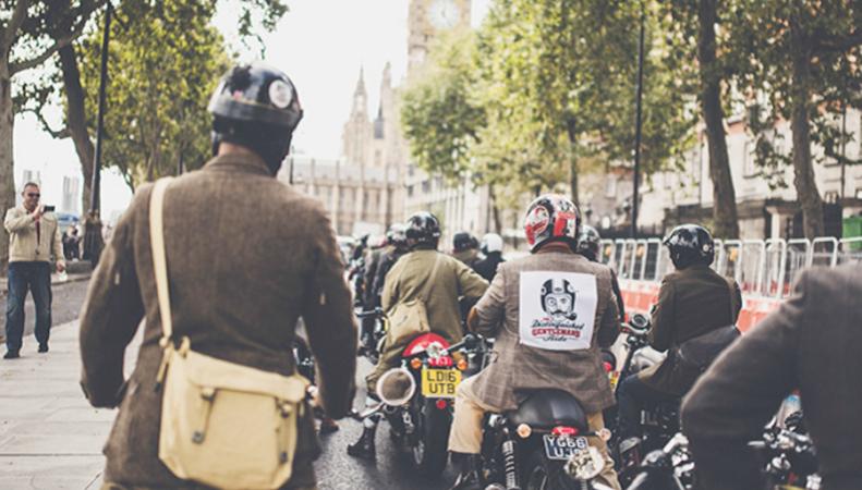 Достопочтенные джентльмены на мотоциклах проведут благотворительный заезд в Лондоне фото:standard.co.uk