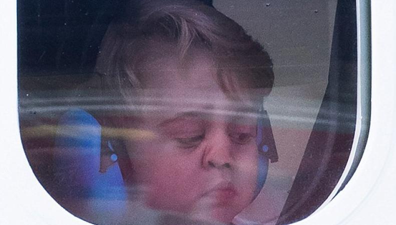Постскриптум к королевскому визиту в Канаду: смешное фото Джорджа и очень странное видео фото:dailymail.co.uk
