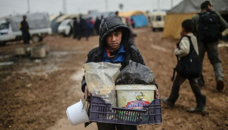 беженец-беспризорник